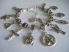 SUPERNATURAL Mary Winchester Protection Replica Charm Bracelet Amulets Dean Sam