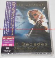 EDDIE JOBSON Four Decades Special Concert First Limited Edition DVD 2 CD Japan