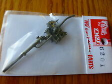 Cal-Scale #6201 Water Heater w/Closed Valve SP BL2 (HO Scale) Brass Casting