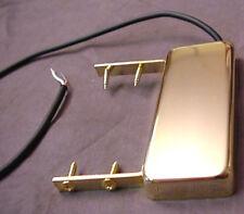 GOLD MINI HUMBUCKER PICKUP FOR GUITAR - end of fingerboard