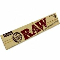 "RAW 12"" Rolling Papers Classic Supernatural Unrefined 8 Packs"