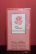 Oscar de la Renta ORANGE FLOWER Eau de Toilette Spray 3.4 fl oz/100 ml