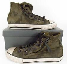 Converse John Varvatos Double Zip Camo Canvas Sneaker JUNIOR Size 3.5 (35.5 EU