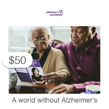 $50 Charitable Donation For: people worldwide living with dementia