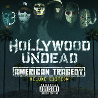 HOLLYWOOD UNDEAD: AMERICAN TRAGEDY 2011 DELUXE CD INC 4 BONUS TRACKS / NEW
