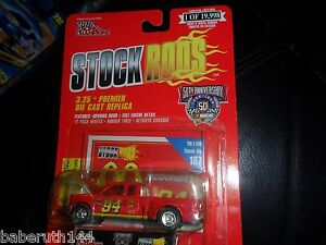 RACING CHAMPIONS STOCK RODS NASCAR REALRIDER 1999 F-350 MCDONALDS TRUCK 1/19,998