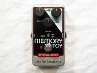 Used Electro-Harmonix EHX Memory Toy Analog Delay Modulation Guitar Pedal