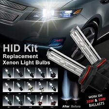 2x Xenon HID Replacement Light Bulbs H1 H3 H4 H7 H8 H9 H10 H11 H13 9005 9006 880