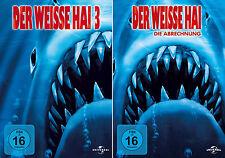 Der weisse Hai 3 + 4 (Dennis Quaid - Lance Guest) Jaws               | DVD | 223