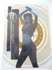 "Topps High Tek Star Wars Aayla Secura ""The Force Awaken"", Limited # 47/50 *Nice*"