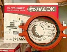 Gruvlok Orange 6 Fp74 E Slidelok Coupling 306624289201271605012218new