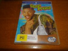 THE FRESH PRINCE OF BEL-AIR COMPLETE SECOND SEASON DVD *BARGAIN*