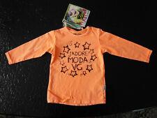 VINGINO   Cooles Mädchen Langarm Shirt neon orange Gr.80  /UVP-24,95€