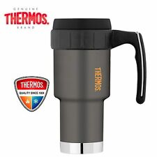 THERMOS WORK TRAVEL MUG Insulated Vacuum Cup Coffee Flask Thermo 590ml