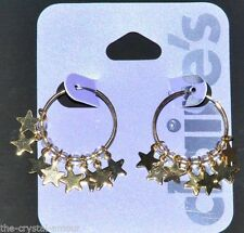 Claire's Butterfly Hoop Costume Earrings