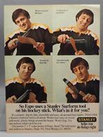 Vintage Magazine Ad Print Design Advertising Stanley Surform Tool