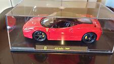 Modellino Ferrari 458 Italia (Burago) 1:24