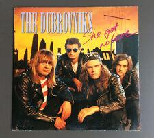 "THE DUBROVNIKS - She Got No Love 7"" Vinyl Single GD+ 1990 Australian Pressing"