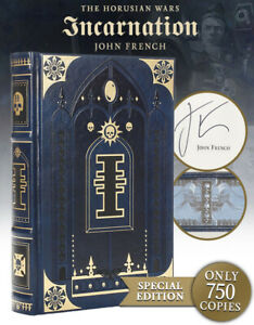 New! The Horusian Wars Incarnation Limited Edition Book signed by John French