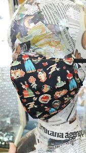 Copri volto Frida Kahlo artigianale lavabile tasca porta filtri