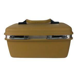 VTG Samsonite Silhouette Travel Train Case Makeup Cosmetic Luggage Hard Shell