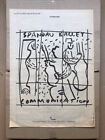SPANDAU BALLET COMMUNICATION POSTER SIZED original music press advert from 1983