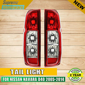 FOR NISSAN NAVARA D40 ST STR STX RX 2005-2014  A PAIR OF TAIL LIGHTS  LH+RH