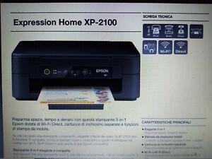 Epson Expression Home XP-2100 3-in-1 con Wi-Fi Stampante (Risoluzione di Stampa…