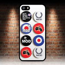 MOD BADGES PHONE CASE IPHONE 4 4S 5 5S SE 5C 6 6S 7 8 PLUS X XR MAX 11 PRO
