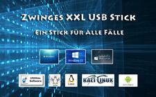 USB Stick Windows 7 und 10 + Linux + Knoppix + Security uvm