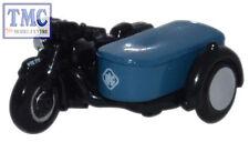 NBSA002 Oxford Diecast 1:148 Scale N Gauge Motorbike and Sidecar RAC