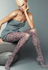 Veneziana Alessia 60 Den Patterned Size 4 Tights - Made In Italy