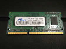 ASint SSY3128M8-EDJEF (1GB DDR3 PC3-12800S 1333MHz SO DIMM 204-pin) RAM Module