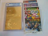 CGC ULTIMATE Weapon X 9.8 Age Of Apocalypse GOLD EDITION VHTF Wolverine WHITE