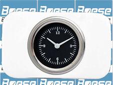 37-38 Chevy Car Billet Aluminum Clock Insert w/ Classic Instruments Hot Rod