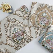 Non-slip Euro Chenille Pillow Cushion Upholstery Material Jacquard Sofa Fabric