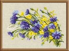 "Counted Cross Stitch Kit RIOLIS - ""Cornflowers & Buttercups"""