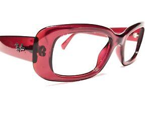 Ray Ban RB4122 735/8G Women's Red Modern Designer Sunglasses Frames 48/16~125