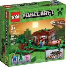 LEGO Minecraft - 21115 The First Night / Steves Haus mit Creeper - Neu & OVP