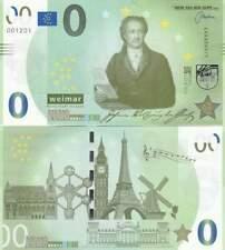 Biljet billet zero 0 Euro Memo - Weimar Kulturstadt Europas (026)