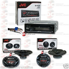 "JVC PACKAGE KD-R370 1DIN CAR CDSTEREO AUX + 6.5"" 2-WAY & 6x9"" 3-WAY CAR SPEAKERS"