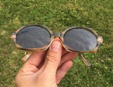 Vintage American Optical HEX-O Chic Sunglasses Big Brown Tortoise Jackie O Retro