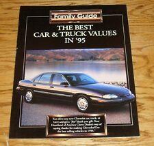 Original 1995 Chevrolet & Geo Car Truck Family Guide Sales Brochure 95 Camaro