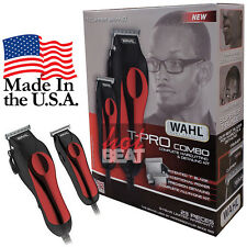 Wahl Professional Hair Clipper Kit 23 pcs Barber Pro Set 79111-1501 MADE IN USA