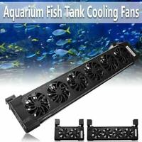 Aquarium Fan  Fish Tank Cooling Fans Tropical Chillers Water Cooler New