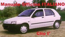 RENAULT CLIO Prima 1° Serie (1990/1998) Manuale OFFICINA Riparazione ITALIANO