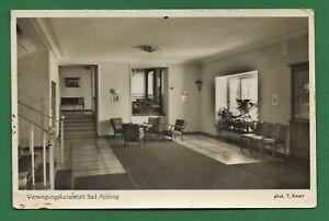 Postkarte-Deutschland-Bad Aibling - Versorgungskuranstalt-gelaufen-22.7.53-