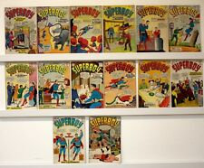 Superboy Lot of 14 comics  Most VG's   See below for Issue #'s & photo