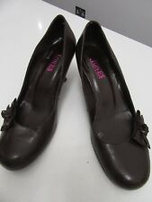 LADIES JONES  SLIP ON'S SIZE 39 BLACK WITH BOW EVERY DAY USE  COMFORTABLE  HEELS