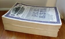 ONE-THOUSAND 1945 Railroad Bonds, Numbers #1-1000 - The ENTIRE Issue - PCCSTL